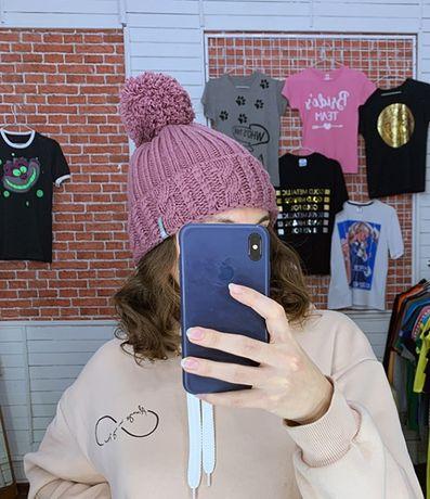 Женская зимняя шапка Outventure лилового цвета