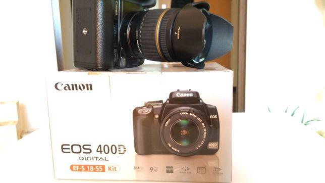 Canon 400d+obiektyw 17-50 1:2.8