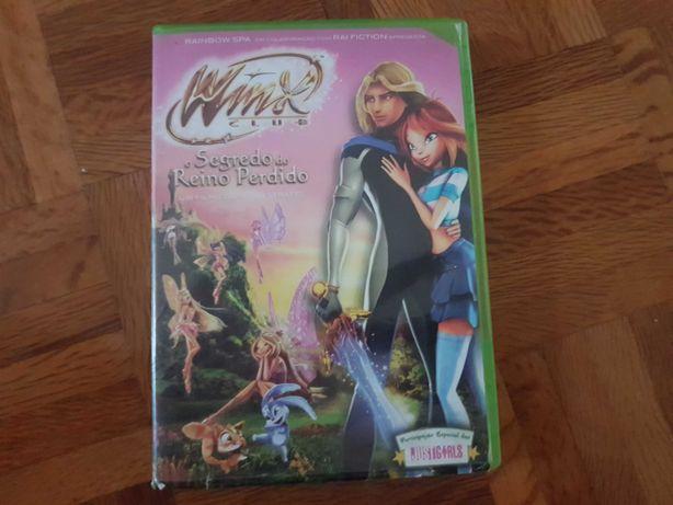 Dvd Winx Club filme O Segredo do Reino Perdido