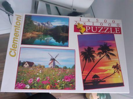 Conjunto de 3 puzzles