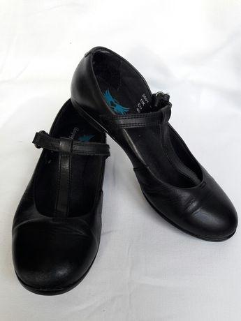 Туфли кожаные стелька 21 см