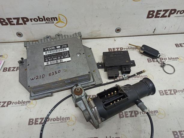 ЭБУ блок управления двигателем mercrdes W210 E230 замок ключ