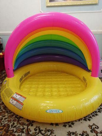 Интекс 57420 Детский надувной бассейн Intex  «Радуга»
