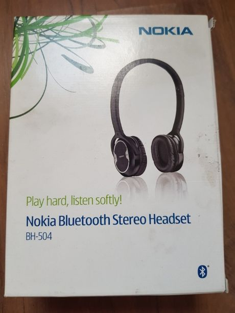Nokia BH-504 słuchawki bluetooth z mikrofonem składane