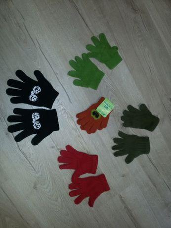rękawiczki haloween 5 par nowe