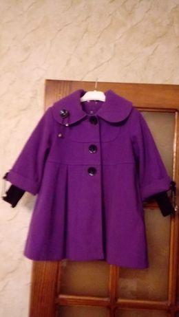Пальто демисезонное 3-5 лет