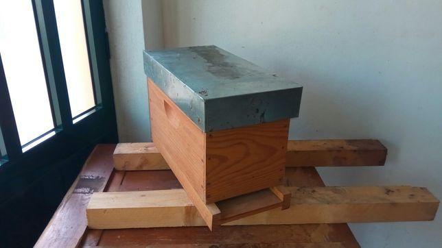 Nucleo colmeia langstroth para apicultura abelhas