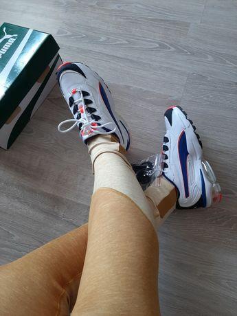 Nowe białe sneakersy puma obuwie sport trening bieganie