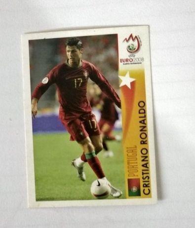 Cromo Cristiano Ronaldo no euro 2008