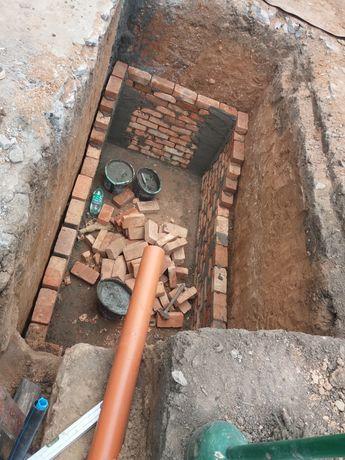 Земляные работы,копка земли вручную,канализацыя,демонтаж