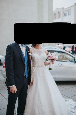 Sprzedam piękną suknię ślubną David Tutera Mon Cheri