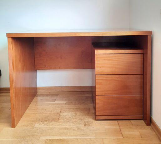 Mobília quarto Âncora pinho mel com sommier elevatório