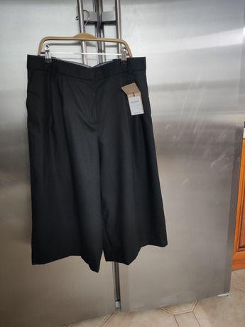 Massimo dutti  брюки кюлоты 100%шерсть