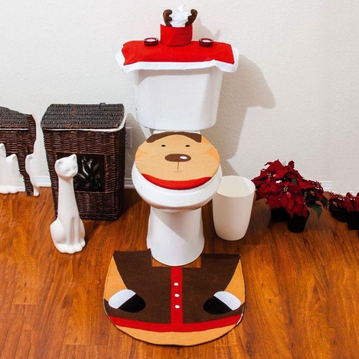 Рождественский Набор для туалета олень Харьков - изображение 1