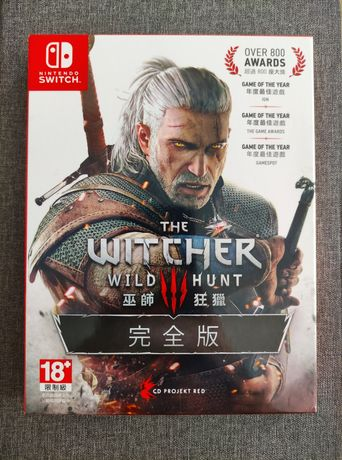 The Witcher 3 Complete Edition - игра для Nintendo Switch