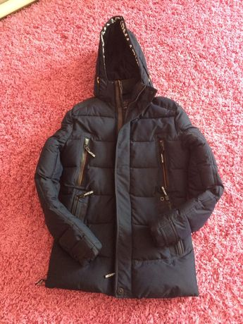 Куртка зимняя мужская подростковая