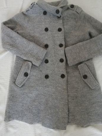 Пальто кардиган из натуральной шерсти