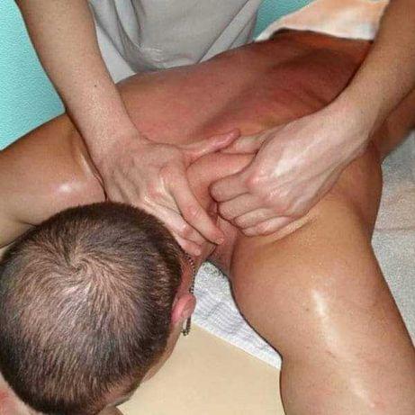 Услуги профессионального массажиста.