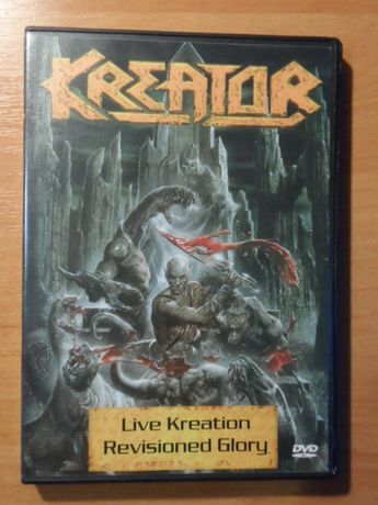 """KREATOR """"Live Kreation - Revisioned Glory"""" (2003, Steamhammer) DVD9"""