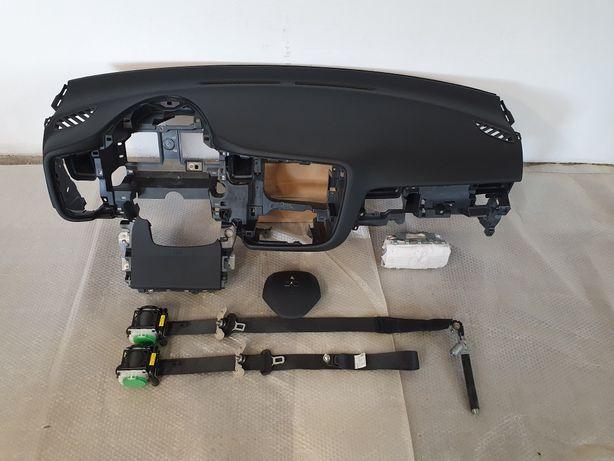 Deska konsola airbag pasy Mitsubishi Outlander 3