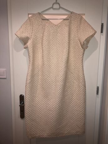 Komplet sukienka z żakietem 50