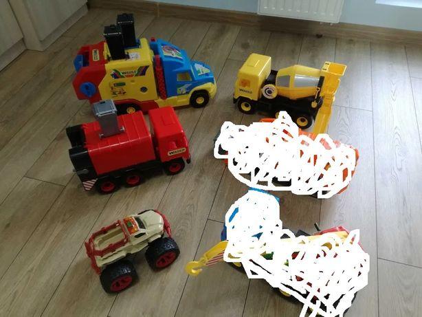 Zabawki dla chłopca, samochody, śmieciarki, traktory Wader inne