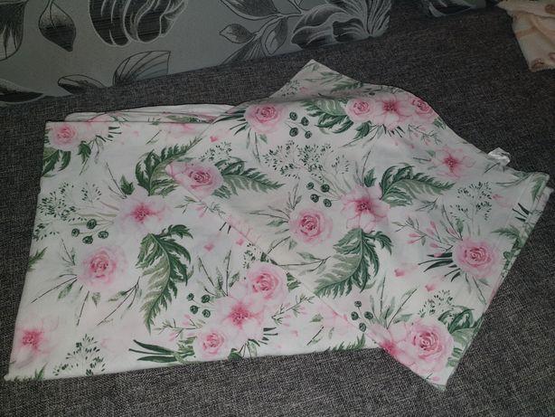 Pościel do łóżeczka 120 kwiaty