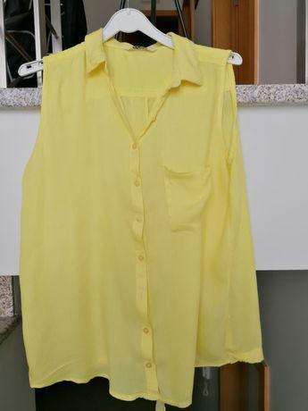 Blusa fresca amarela