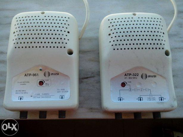 Amplificador sinal televisão/TDT
