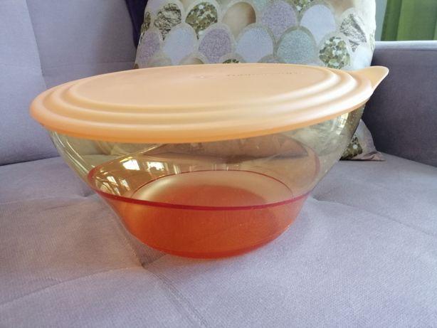 Miska Elegancja pomarańczowa 4.6 l z kolekcji Tupperware - NOWA