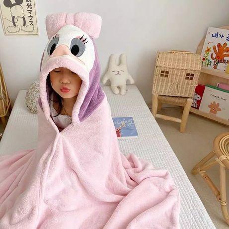 Подарок ребёнку - полотенце уголок детское халат пончо накидка Дисней