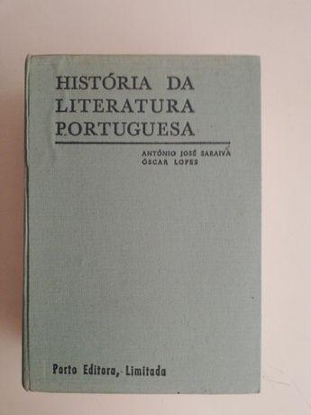 História da Literatura Portuguesa de António José Saraiva
