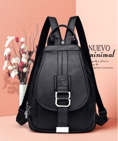 Женский новый стильный городской рюкзак ранець женская сумка бананка