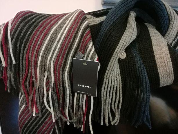 Nowy szalik męski Reserved bardzo ciepły (-60%)