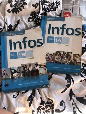 Infos 1a 1b -książka od niemieckiego