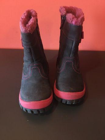 Kozaki dziecięce , dziewczęce, buty zimowe lasocki rozm 23