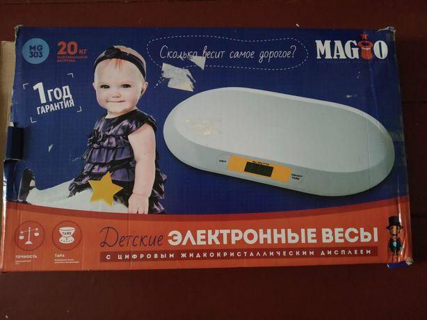 Дитячі електроні ваги