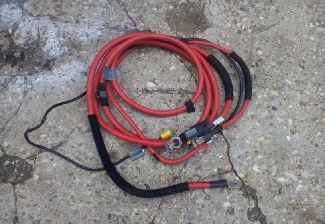 Силовой кабель плюс клеммы аккумулятора пиропатрон BMW E39 E46 53 E60