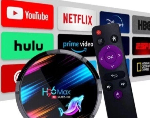 H96 Max X3  4/32/64/128 GB Tv Box  najmocniejszy!!! SPOTIFY NETFLIX