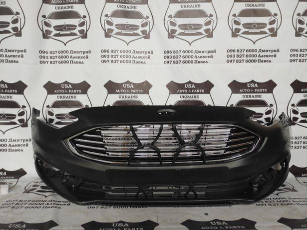 Бампер Ford Fusion 2016- Решетка Фары панель туманки накладки