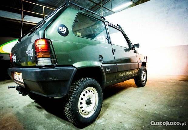 Fiat panda 4x4 sisley, capotas lona novas,