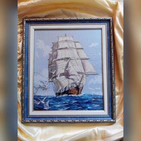 Продам копию схемы Dimensions 03886 Морское путешествие Парусник