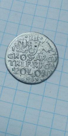 Трояк Сигизмунд Ваза 3 , 1622 год.