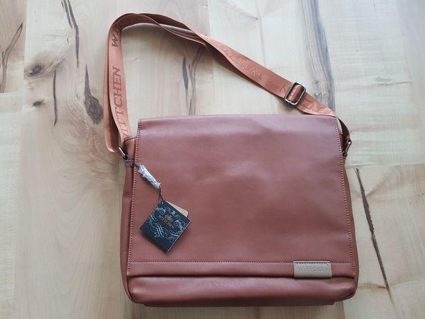 Wittchen brązowa torba na laptopa
