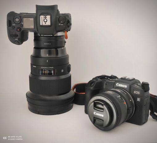 Canon R + Sigma 105 1.4 art. Gwarancja! Stan idealny.