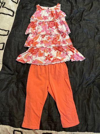 Детский летний костюм Dunnes д девочки