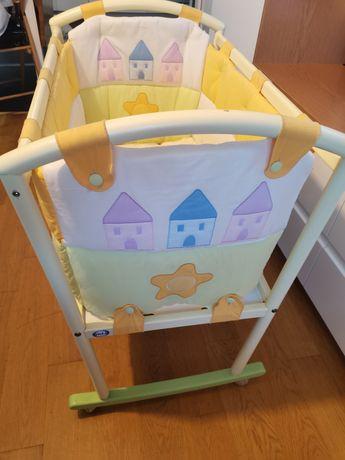 Кроватка люлька  pali sole для новорожденных комплект