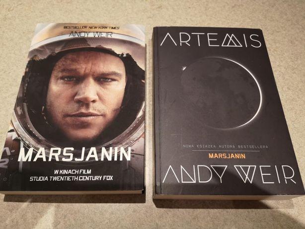 Marsjanin + Artemis + Projekt Hail Mary w bonusie - Andy Weir
