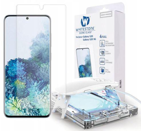 Szkło hartowane Dome Glass Samsung Galaxy S20 20+ s20 Ultra z montażem