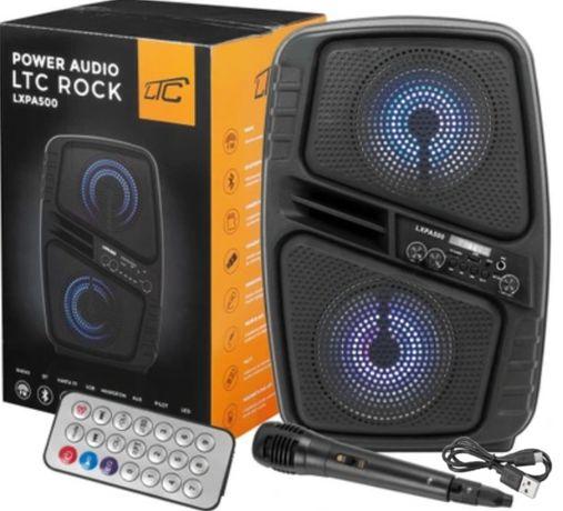 Kolumna aktywna Karaoke BLUETOOTH LXPA500 MIKROFON bezprzewodowa